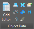 ObjectData Ribbon Panel