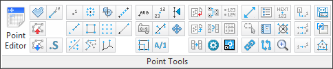 3dPoint Tools Ribbon